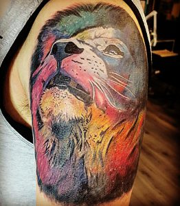 tattoo studio tenerife canary canarie spain spagna lion reggae