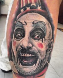 tattoo studio tenerife canary canarie spain spagna clown circus