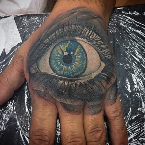 tattoo studio tenerife canary canarie spain spagna eye hand
